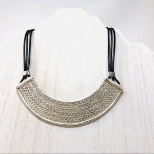 SERGIO BUSTAMANTE Sterling necklace, 46.9g